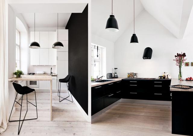 Decoration De Cuisine En Noir Et Blanc Atwebster Fr Maison Et