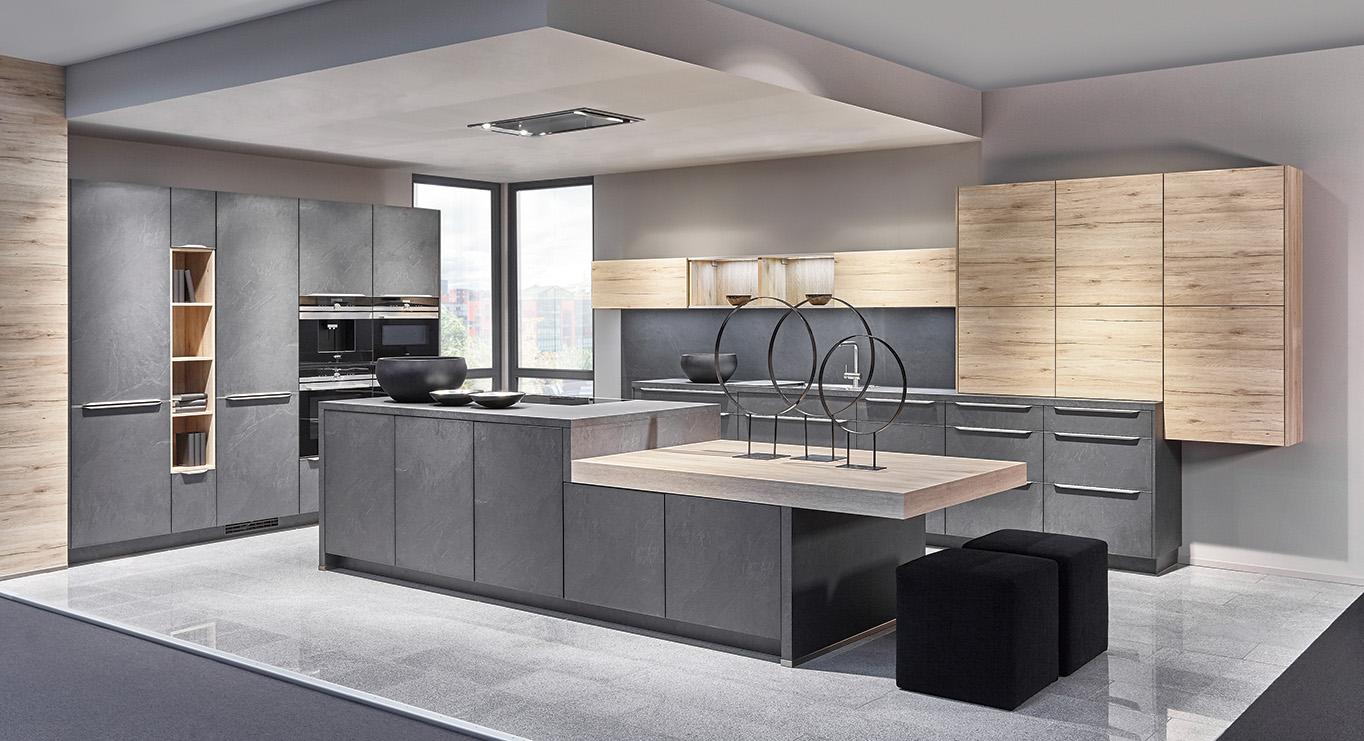 plan cuisine nobilia maison et mobilier. Black Bedroom Furniture Sets. Home Design Ideas