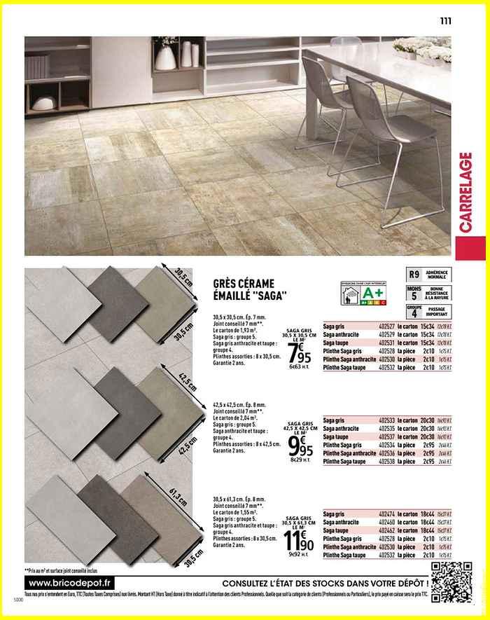 Carrelage exterieur brico depot lievin - Atwebster.fr - Maison et mobilier