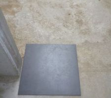 Carrelage life anthracite
