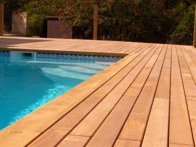 Carrelage imitation bois pour plage de piscine - Atwebster.fr - Maison et mobilier