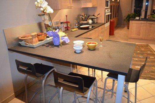 table cuisine integree plan travail maison et mobilier. Black Bedroom Furniture Sets. Home Design Ideas