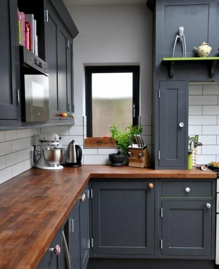 Idee peinture cuisine rouge - Atwebster.fr - Maison et mobilier