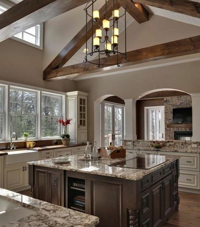 Meuble de cuisine en bois a peindre - Cuisine en bois blanc ...