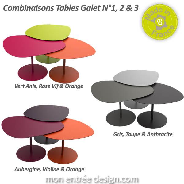 table basse gigogne couleur maison et. Black Bedroom Furniture Sets. Home Design Ideas