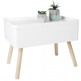 Gifi Table Basse Gigogne Blanctaupe Atwebsterfr Maison Et Mobilier