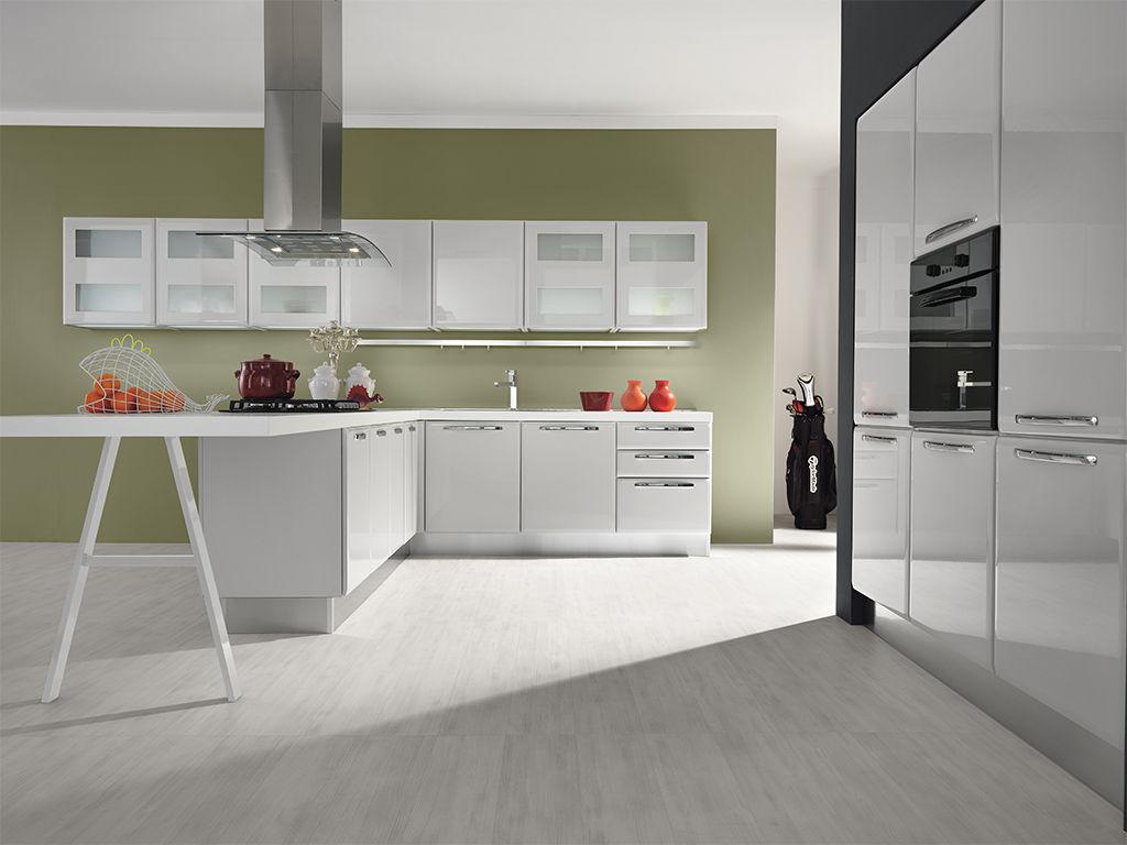 peinture pour cuisine vert olive maison. Black Bedroom Furniture Sets. Home Design Ideas
