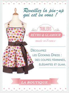 Patron de tablier de cuisine vintage - Atwebster.fr - Maison et mobilier