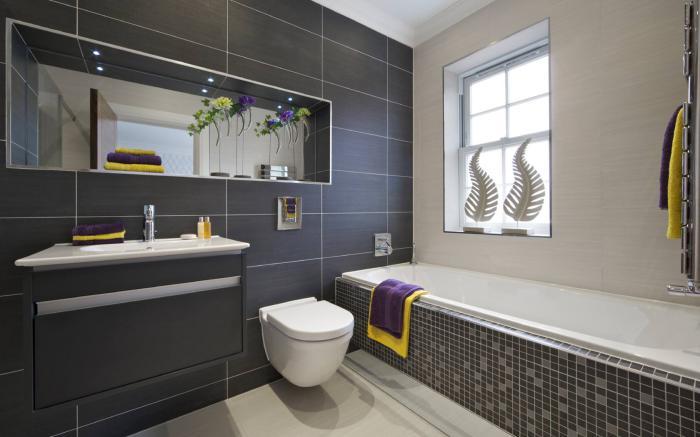 Carrelage salle de bain chic - Atwebster.fr - Maison et mobilier