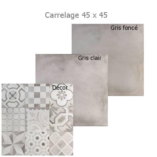 Carrelage devon effet carreaux de ciment lapeyre - Atwebster.fr - Maison et mobilier
