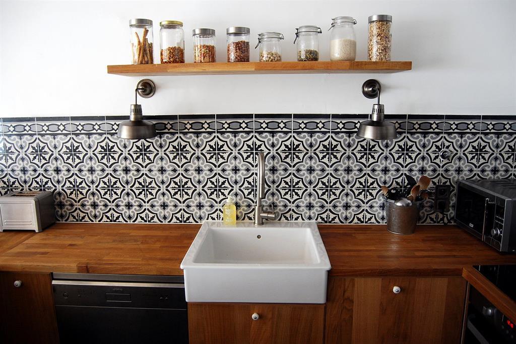 Carrelage motif ancien cuisine - Atwebster.fr - Maison et mobilier