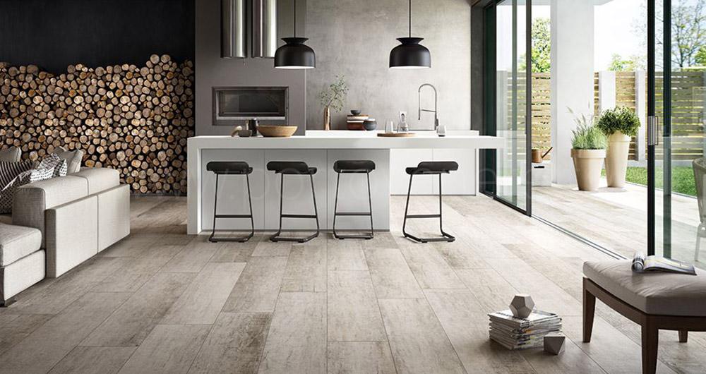 Carrelage imitation bois rustique maison - Carrelage salle de bain imitation bois ...