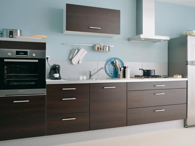 Couleur mur cuisine brun maison et mobilier - Couleur pour cuisine moderne ...