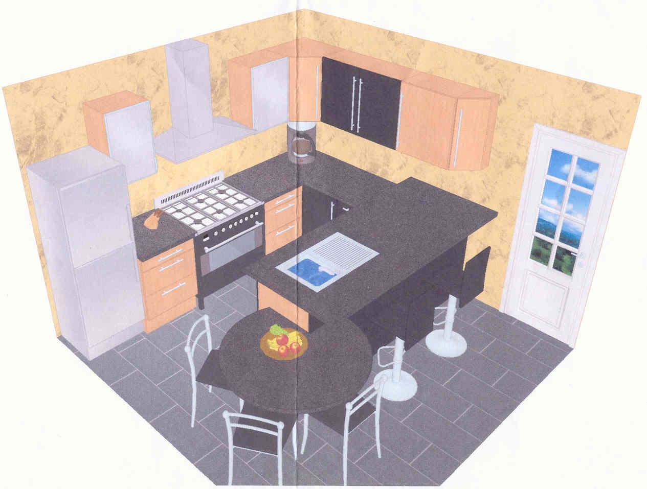 Cuisine Ikea Faktum Bois Atwebster Fr Maison Et Mobilier