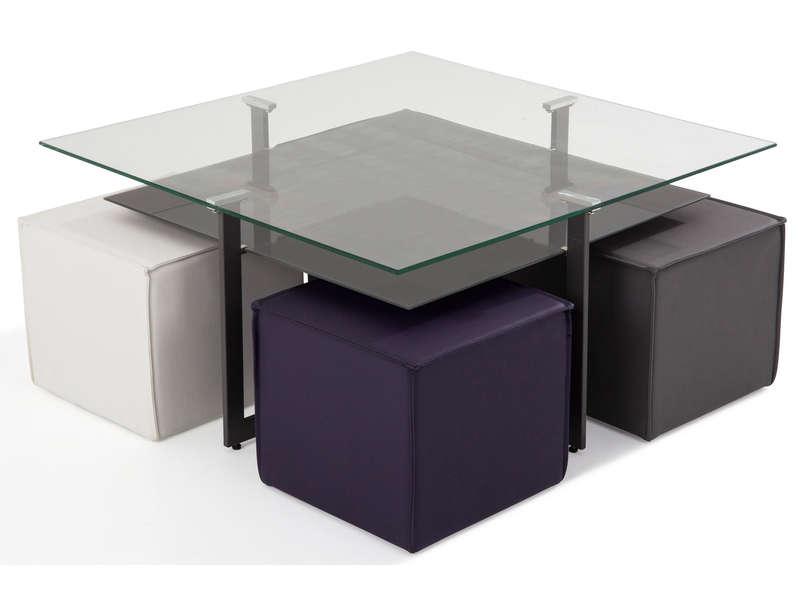 Table Basse Ronde Avec Pouf Conforama Atwebsterfr Maison Et