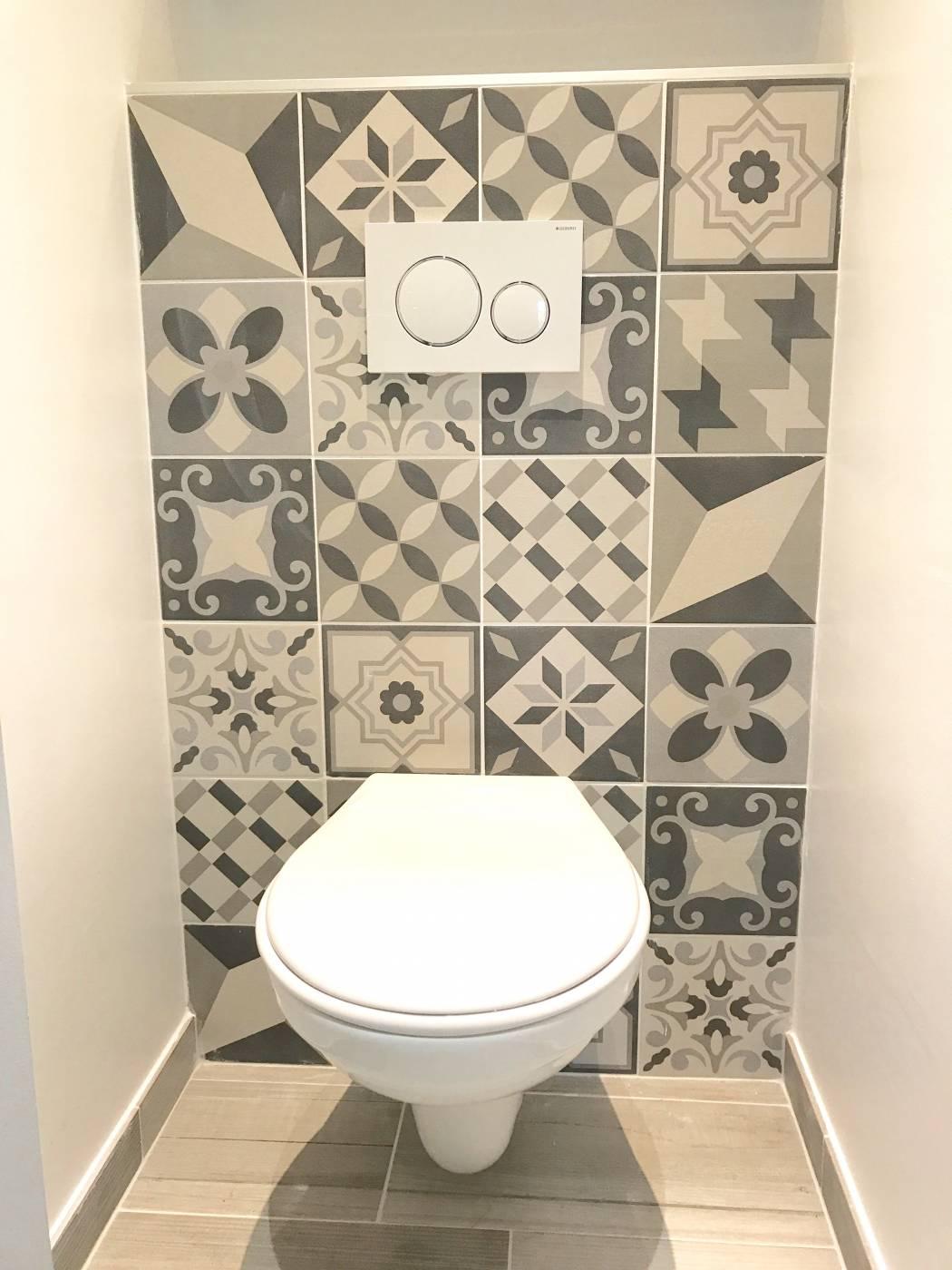 carrelage bleu pour wc - atwebster.fr - maison et mobilier