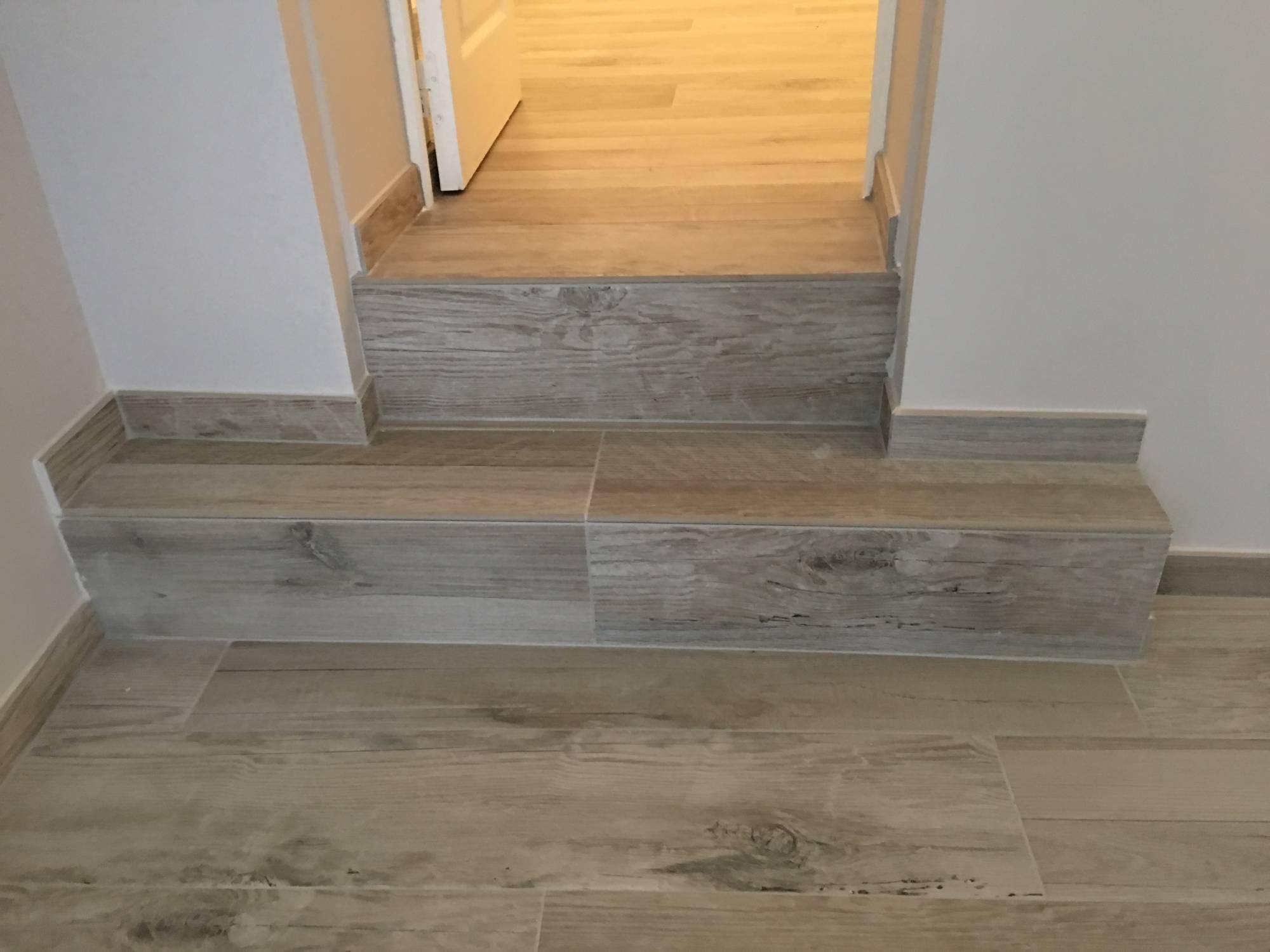 Carrelage renovation imitation bois