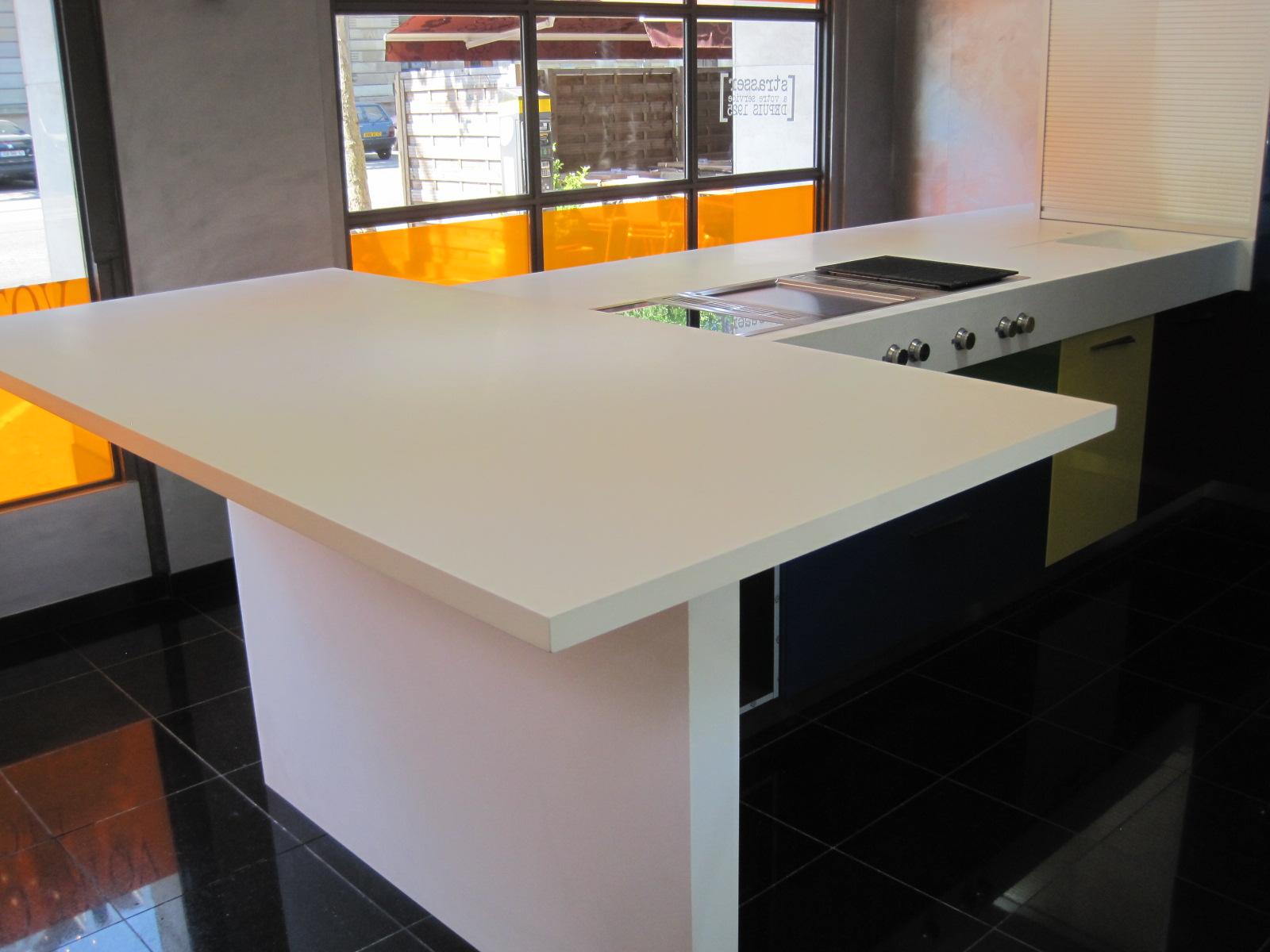 plan de travail cuisine sur mesure resine. Black Bedroom Furniture Sets. Home Design Ideas
