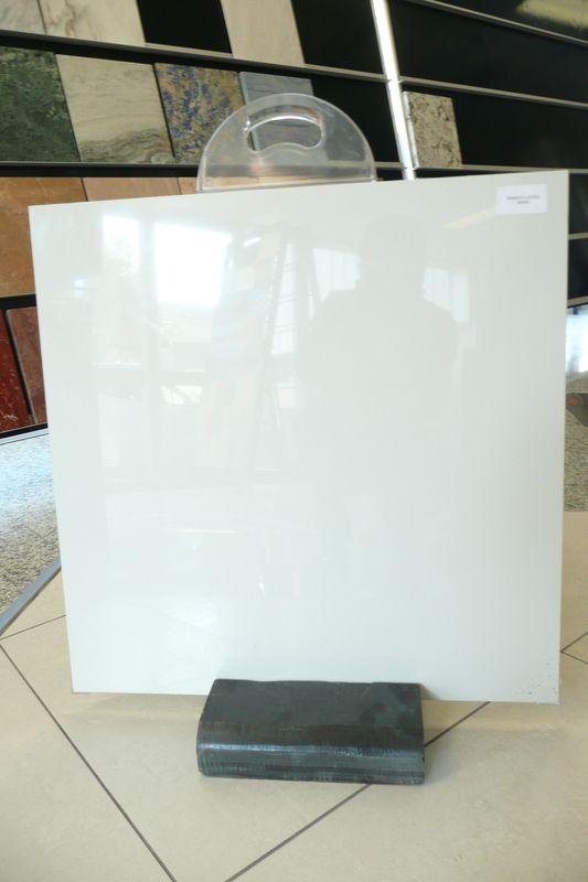 Carrelage Blanc Brillant 20x20 Sol