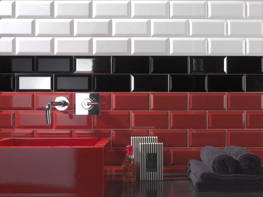 Carrelage metro rouge brique - Atwebster.fr - Maison et mobilier