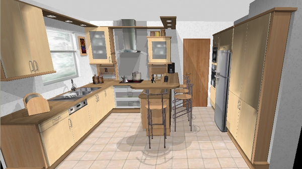 Plan pour cuisine gratuit maison et mobilier - Plan pour cuisine gratuit ...