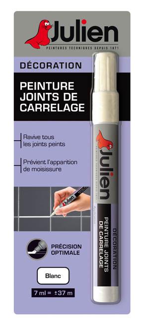 Peinture carrelage gris anthracite julien