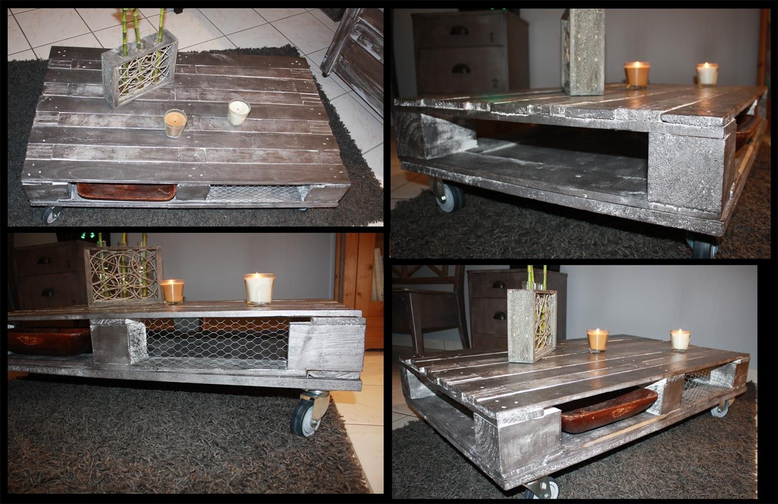 table basse en palette avec rangement - atwebster.fr - maison et