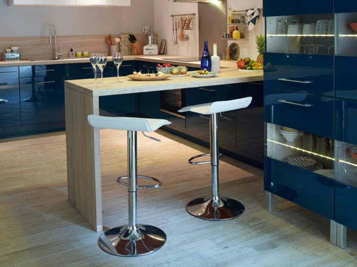 Photo Cuisine Avec Table Bar Atwebster Fr Maison Et Mobilier