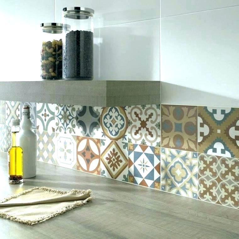 Carrelage cuisine autocollant maison et - Comment poser du carrelage mural cuisine ...