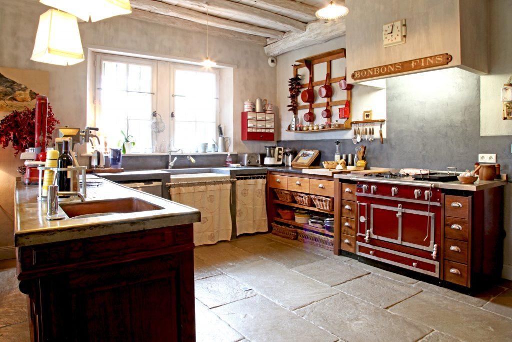 Modele cuisine campagne moderne - Atwebster.fr - Maison et ...