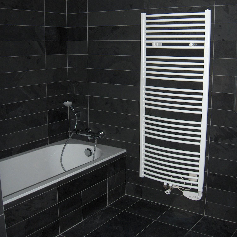 Carrelage ardoise sol salle de bain - Atwebster.fr - Maison et mobilier
