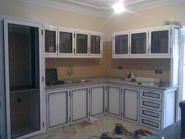 modele de cuisine en aluminium maison et mobilier
