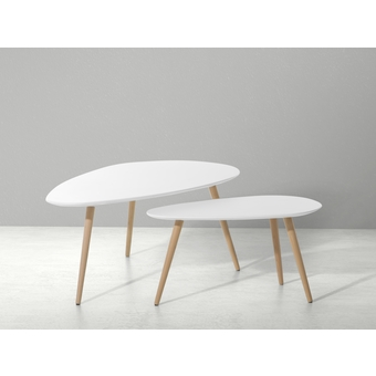 Table Basse Ronde Gigogne Ikea Atwebsterfr Maison Et Mobilier