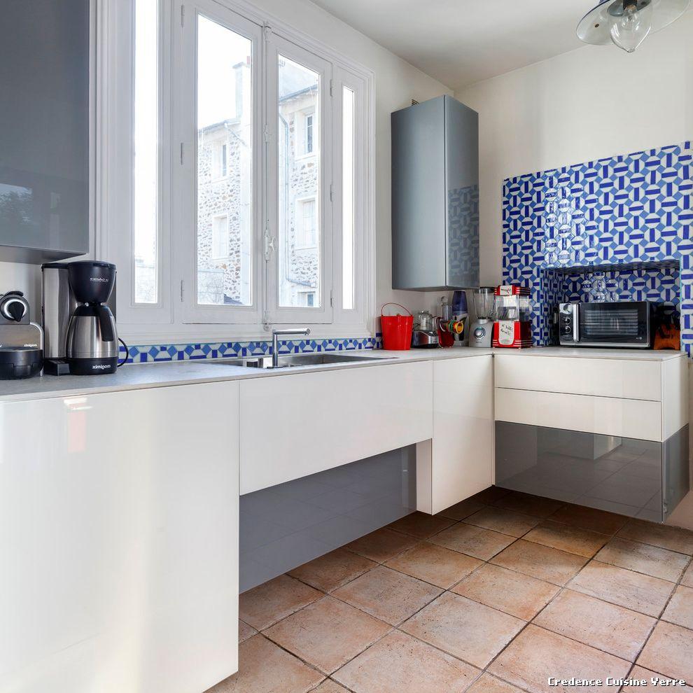 idee deco cuisine credence maison et mobilier. Black Bedroom Furniture Sets. Home Design Ideas
