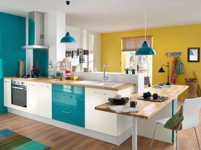 Idee Deco Cuisine Jaune Atwebster Fr Maison Et Mobilier