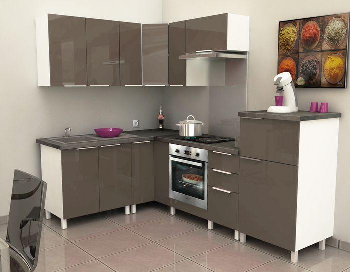 meuble haut d 39 angle cuisine pas cher. Black Bedroom Furniture Sets. Home Design Ideas