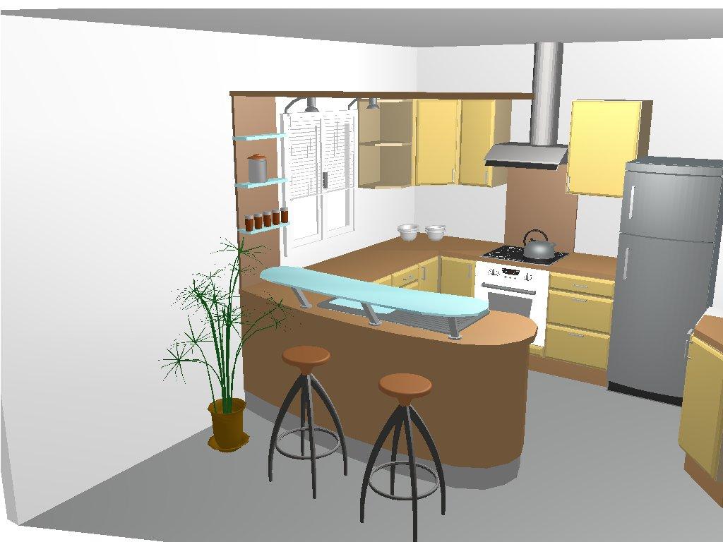 Modele De Cuisine Avec Salon Atwebsterfr Maison Et Mobilier
