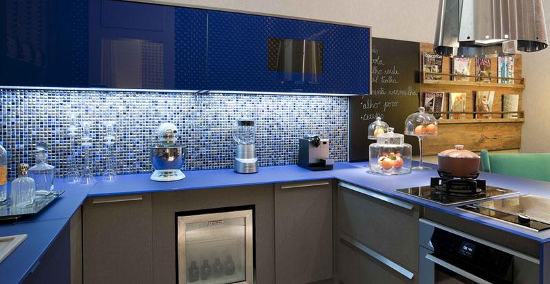 Deco cuisine gris et turquoise - Atwebster.fr - Maison et mobilier
