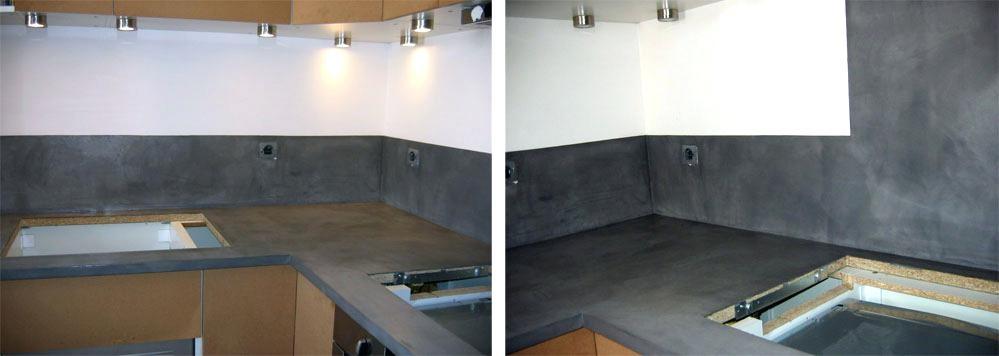beton cir pour plan de travail cuisine leroy merlin. Black Bedroom Furniture Sets. Home Design Ideas