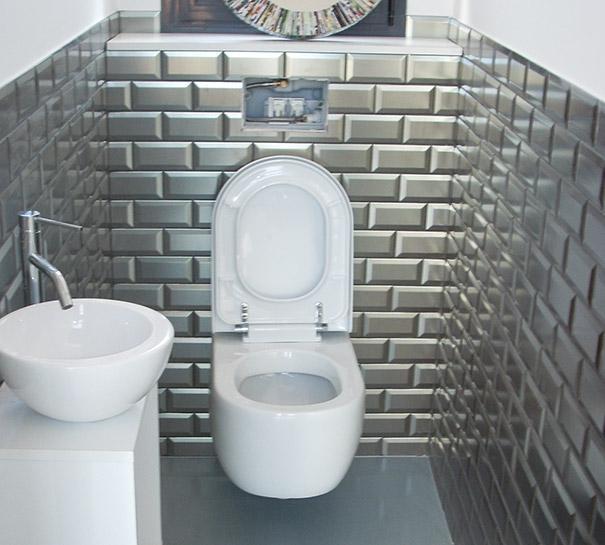Wc Carrelage. Trendy Deco Wc Noir Et Blanc Decoration Wc Decoration ...