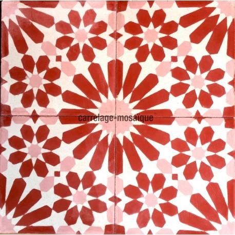 carrelage d coratif en p te rouge imitation carreaux de. Black Bedroom Furniture Sets. Home Design Ideas