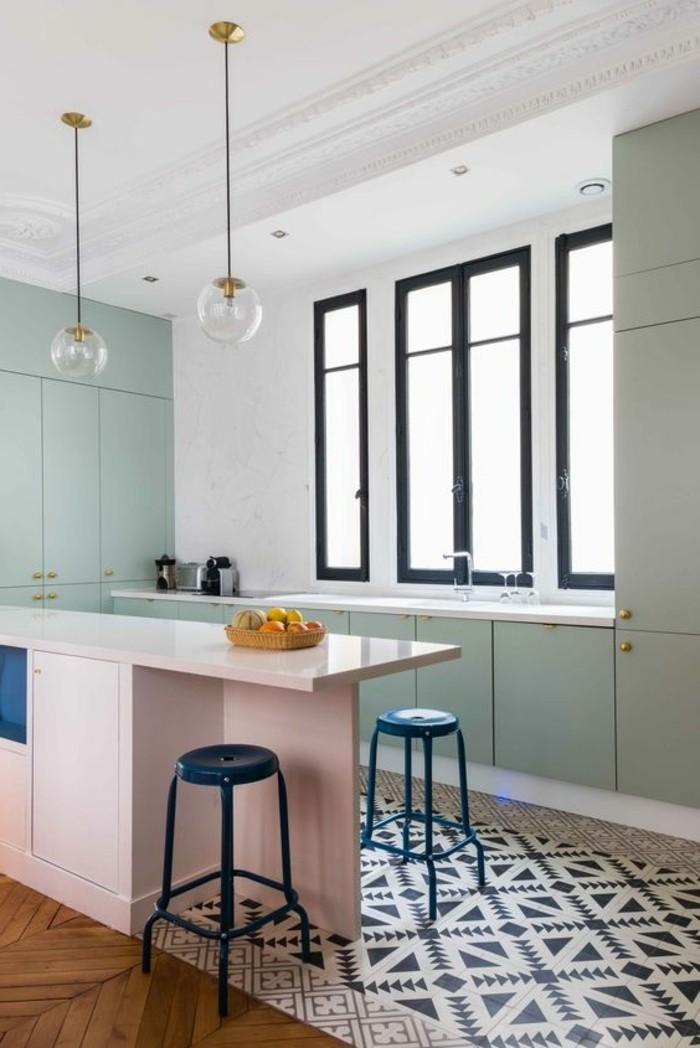 Carrelage cuisine motif ancien maison et mobilier - Image carrelage cuisine ...