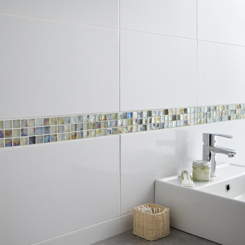 Carrelage salle de bain blanc brillant castorama maison et mobilier - Castorama salle de bain carrelage ...