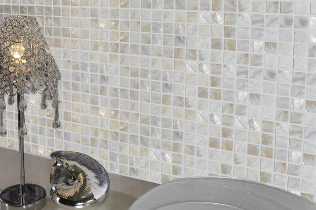 Mosaiques Salle De Bain Concept Mosaique. Carrelage Mosaique Gris Et Rose  Atwebster Fr Maison Et Mobilier