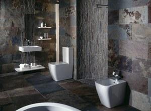 Awesome Salle De Bain Ardoise Et Blanc Ideas - House Design ...