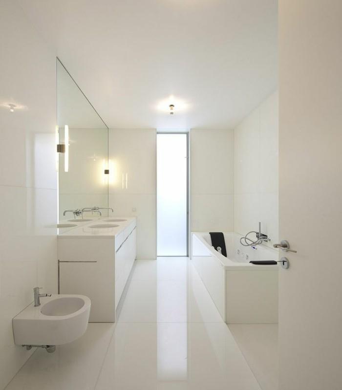 Carrelage salle de bain brillant - Atwebster.fr - Maison et mobilier