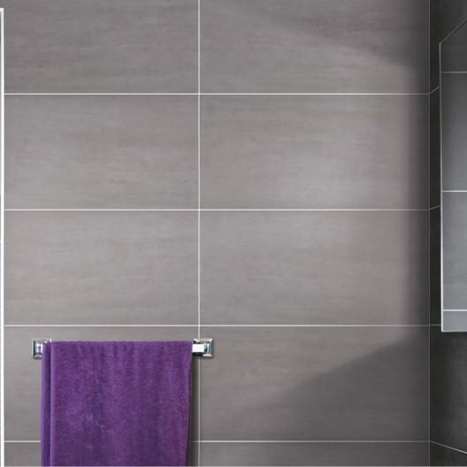 Carrelage gris clair salle de bain - Atwebster.fr - Maison et mobilier