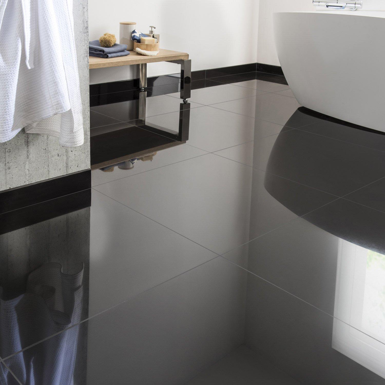 Carrelage gris brillant 60x60 - Atwebster.fr - Maison et mobilier