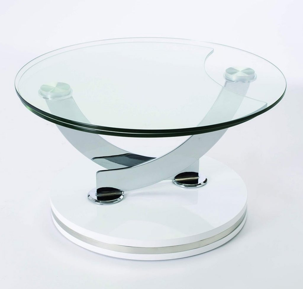 Table basse ronde chez but