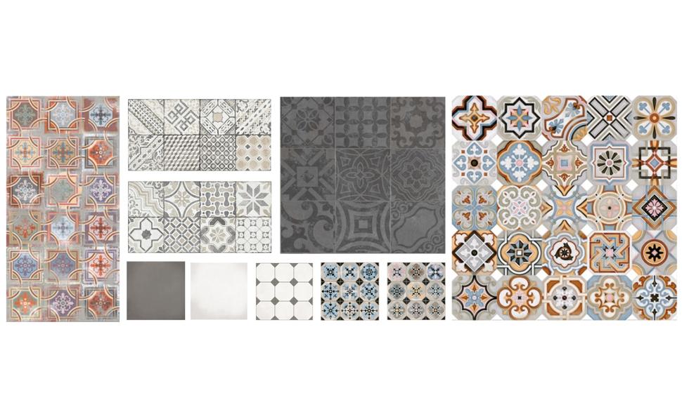 carrelage mosaique ciment maison et mobilier. Black Bedroom Furniture Sets. Home Design Ideas